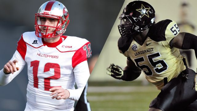 Western Kentucky vs. Vanderbilt - 9/3/2015 (re-air)