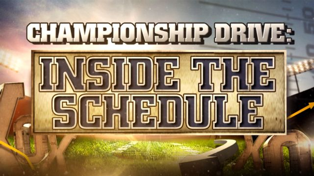 Championship Drive: Inside the Schedule