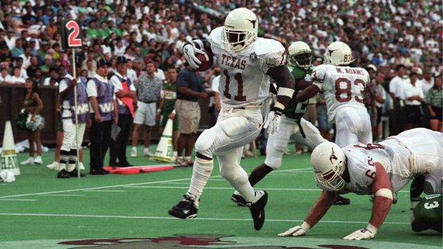 Texas Longhorns vs. Hawaii Warriors - 9/3/1995 (re-air)