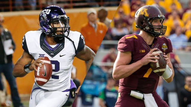 #2 TCU vs. Minnesota (Football) (re-air)