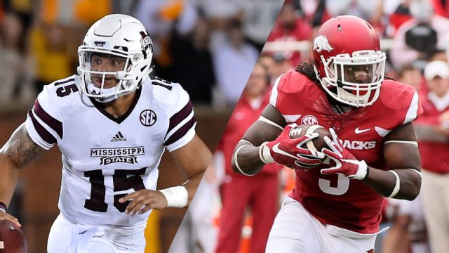 Mississippi State vs. Arkansas (Football) (re-air)
