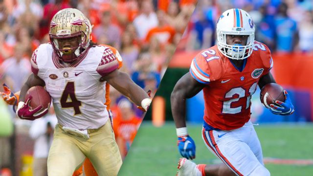 #13 Florida State vs. #12 Florida (Football)