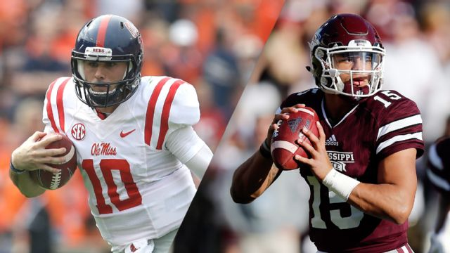 #18 Ole Miss vs. #21 Mississippi State (Football)
