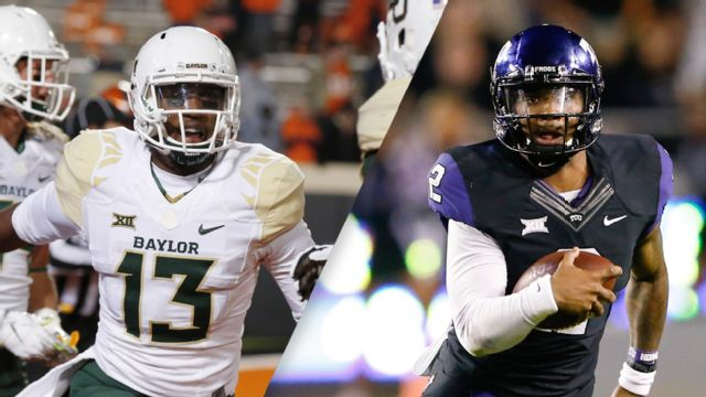#7 Baylor vs. #19 TCU (Football) (re-air)