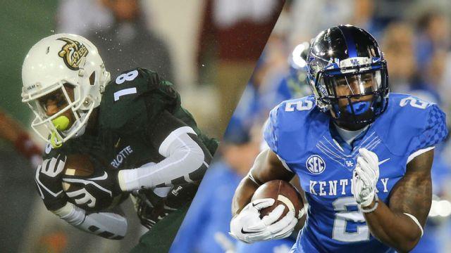 Charlotte vs. Kentucky (Football) (re-air)