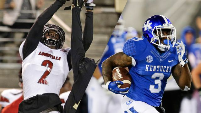 Louisville vs. Kentucky (Football) (re-air)