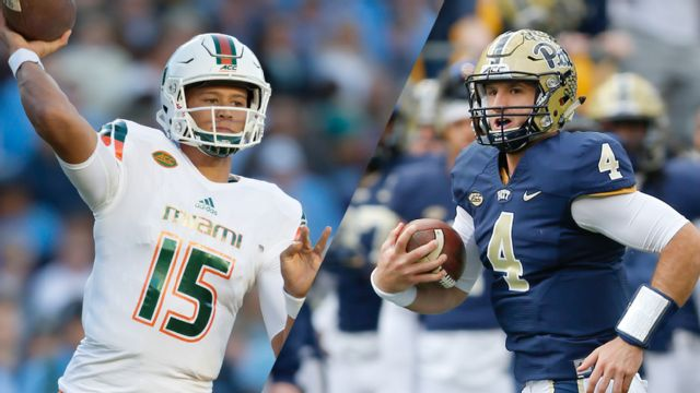 Miami (Fla) vs. Pittsburgh (Football)