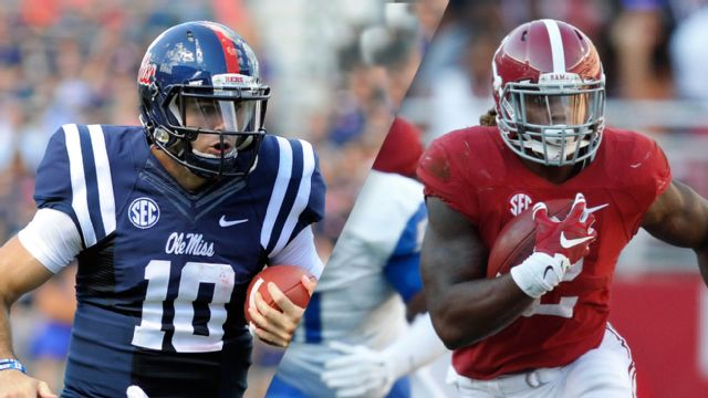 #15 Ole Miss vs. #2 Alabama (Football) (re-air)