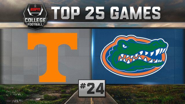 Tennessee vs. Florida (Football) (re-air)