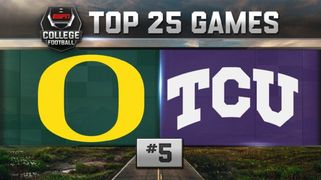 Oregon vs. TCU (Football) (re-air)