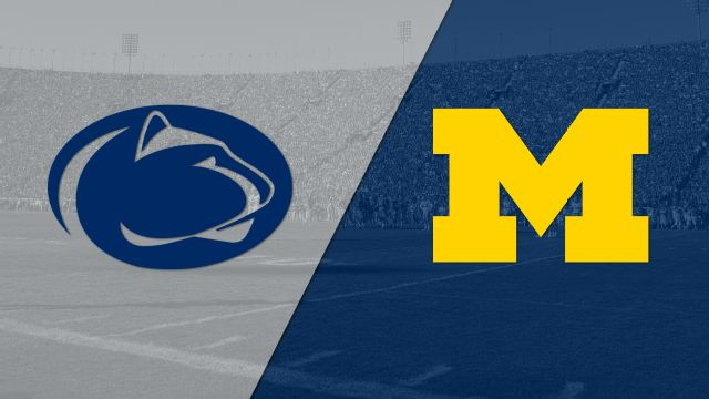 Penn State vs. #4 Michigan (Football)
