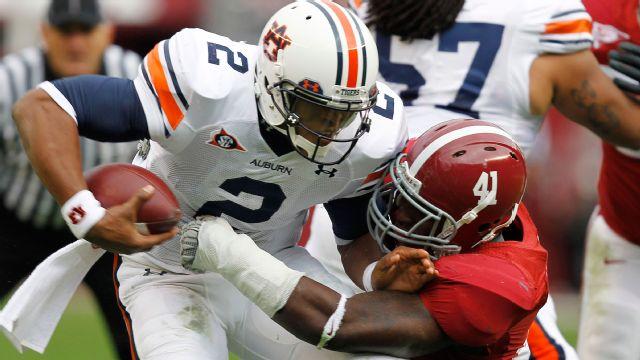 Auburn Tigers vs. Alabama Crimson Tide - 11/26/2010 (re-air)