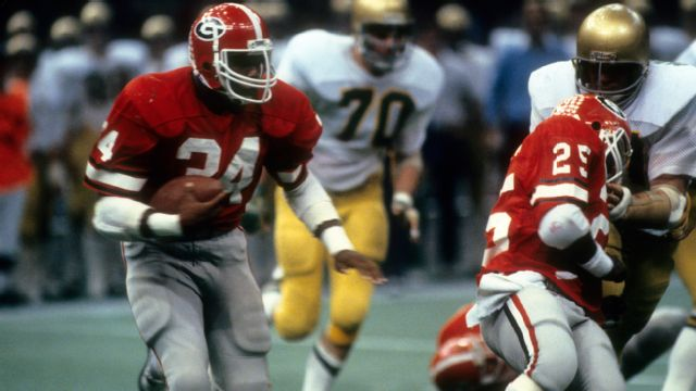 Georgia Bulldogs vs. Notre Dame Fighting Irish - 1/1/1981 (re-air)