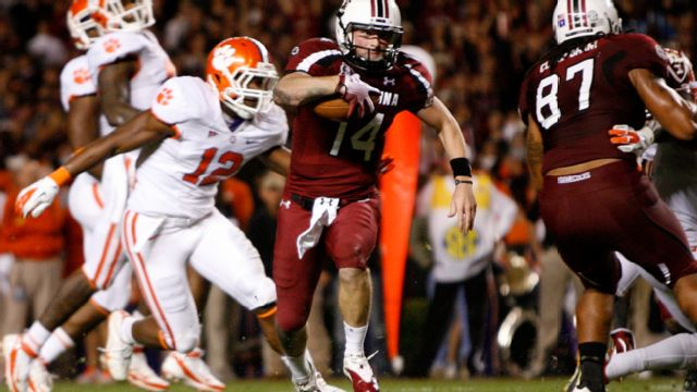 #17 Clemson vs. #12 South Carolina 11/26/2011 (re-air)