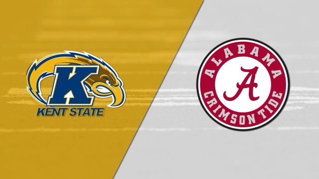 Kent State vs. #1 Alabama (Football) (re-air)