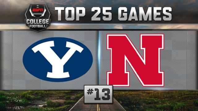 BYU vs. Nebraska (Football) (re-air)