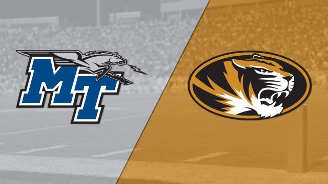 Middle Tennessee vs. Missouri (Football) (re-air)