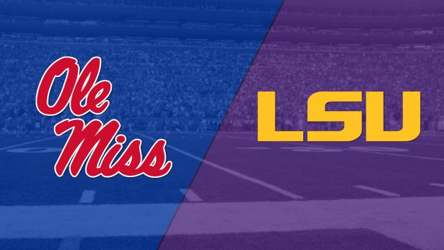 #23 Ole Miss vs. #25 LSU (Football) (re-air)