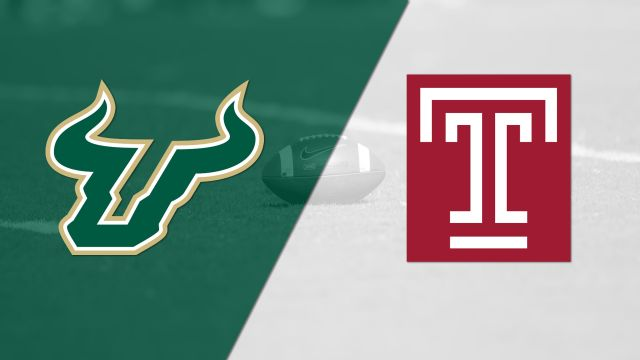 South Florida vs. Temple (Football)