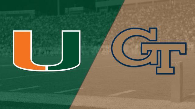 #14 Miami vs. Georgia Tech (Football)
