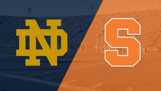 Notre Dame vs. Syracuse (Football)