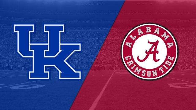 Kentucky vs. #1 Alabama (Football)