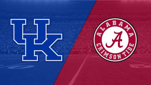 Kentucky vs. #1 Alabama (Football)