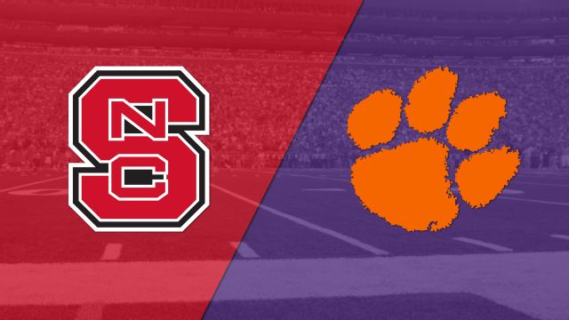 NC State vs. #3 Clemson (Football)