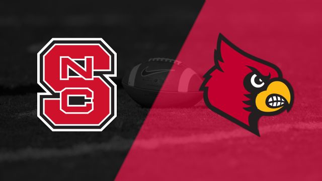 NC State vs. #7 Louisville (Football)