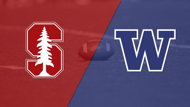 #7 Stanford vs. #10 Washington (Football) (re-air)