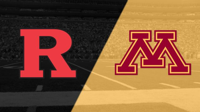 Rutgers vs. Minnesota (Football)