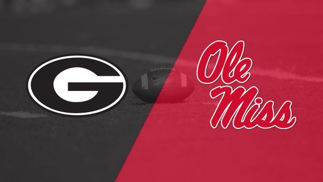 #12 Georgia vs. #23 Ole Miss (Football)