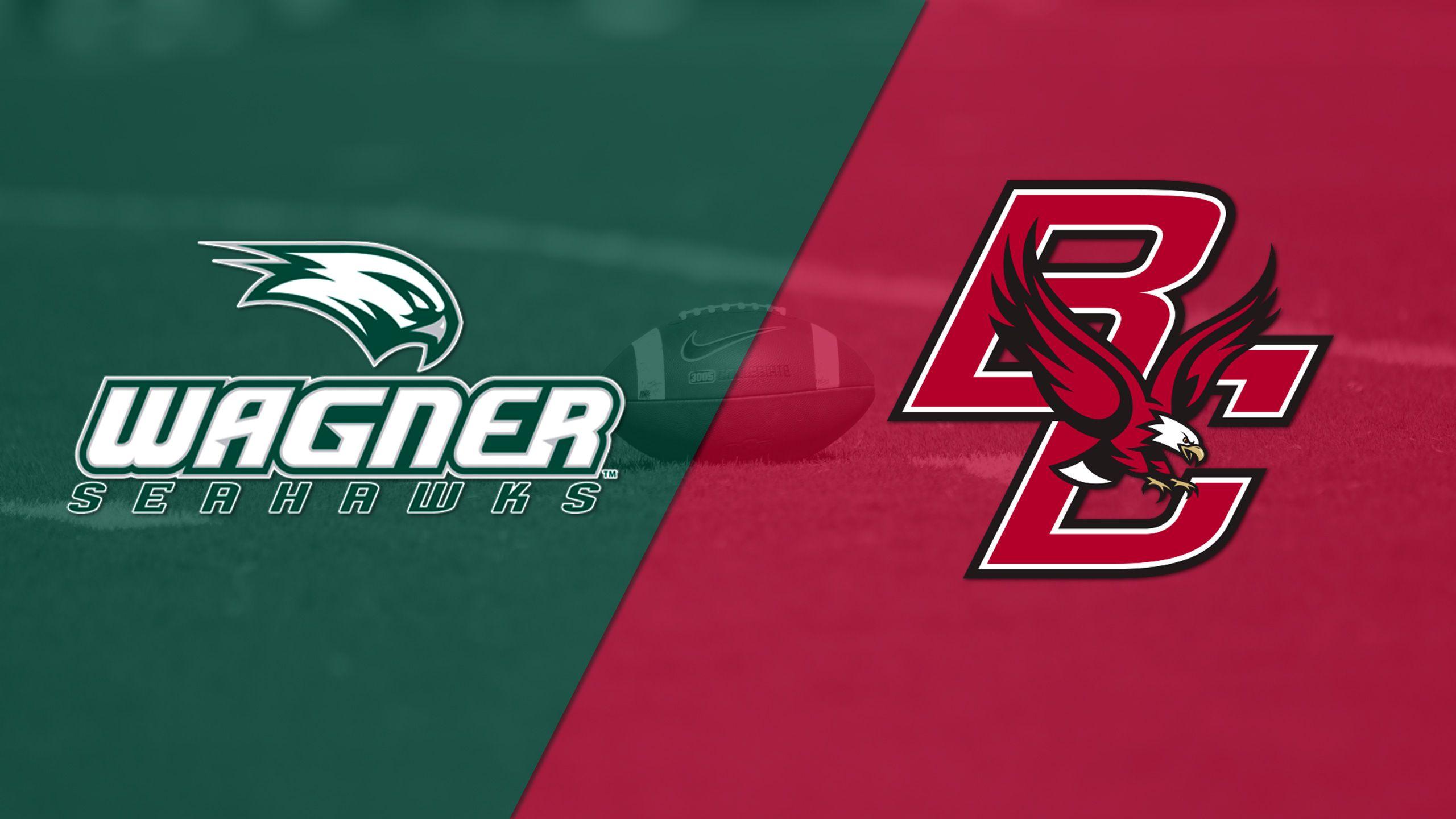 Wagner vs. Boston College (Football)