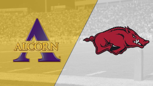Alcorn State vs. #20 Arkansas (Football)