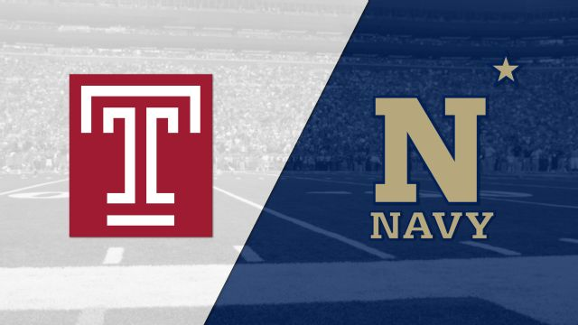 Temple vs. #19 Navy (AAC Championship)