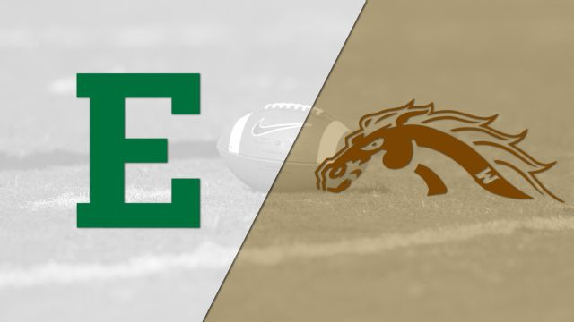 Eastern Michigan vs. #20 Western Michigan (Football)