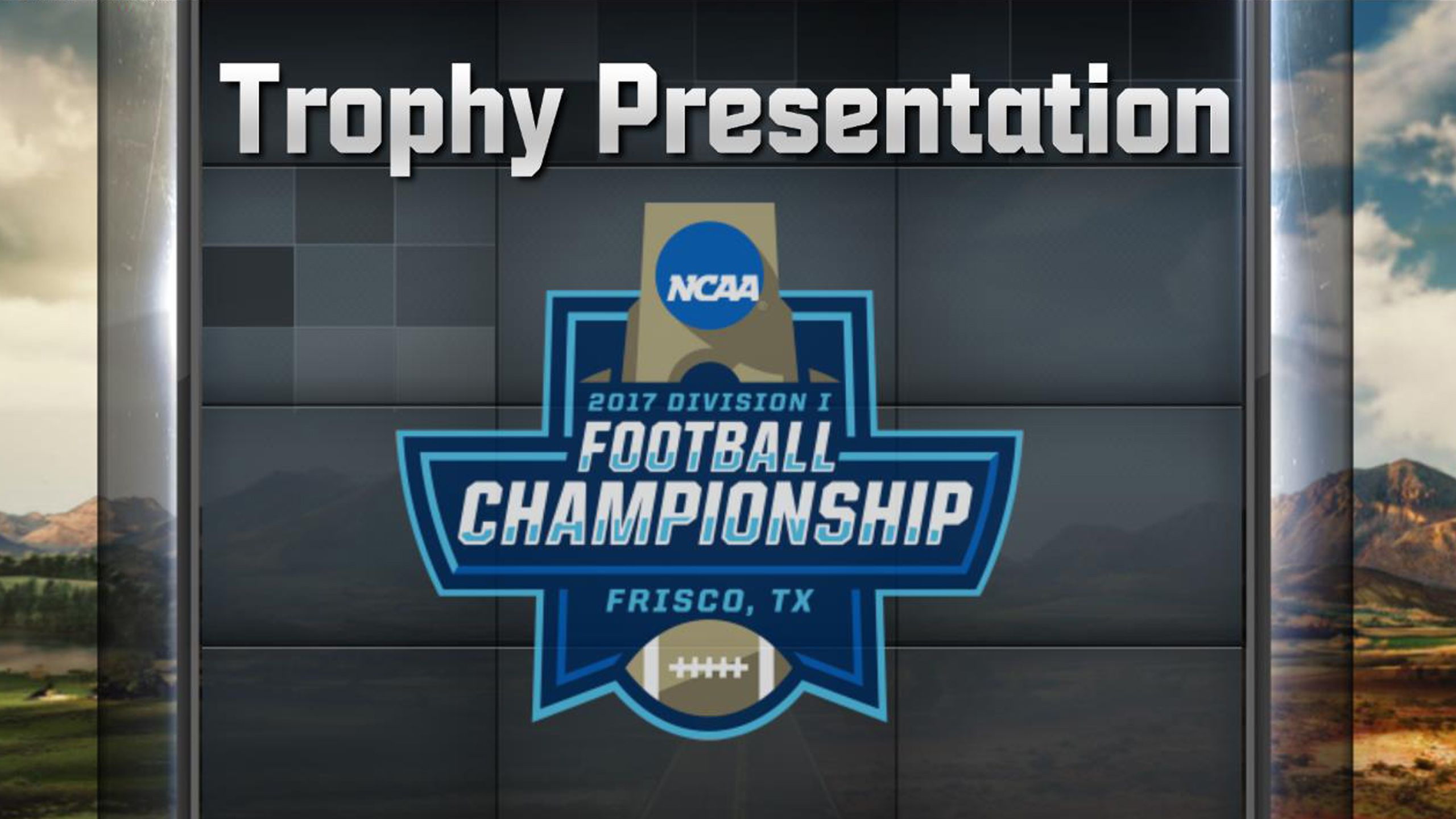 espn schedule when is the ncaa football championship
