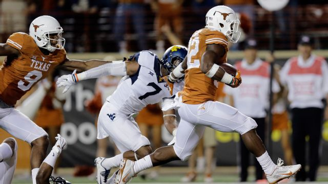 West Virginia vs. Texas - 11/8/2014 (re-air)