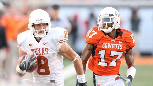#22 Texas Longhorns vs. Oklahoma St. Cowboys