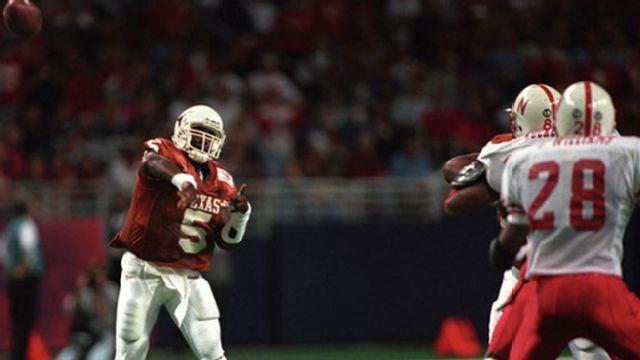 Nebraska Cornhuskers vs. Texas Longhorns - 12/7/1996