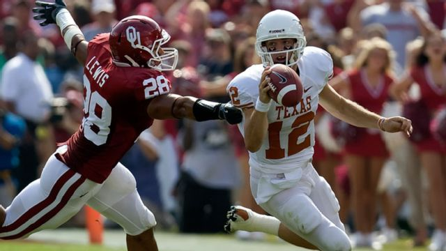 Texas Longhorns vs. Oklahoma Sooners  - 10/11/2008