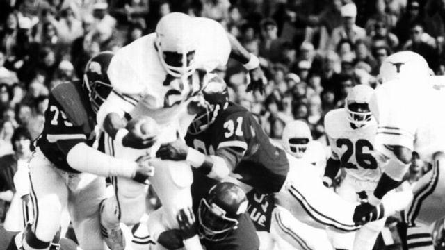 Texas Longhorns vs. Arkansas Razorbacks  - 10/15/1977