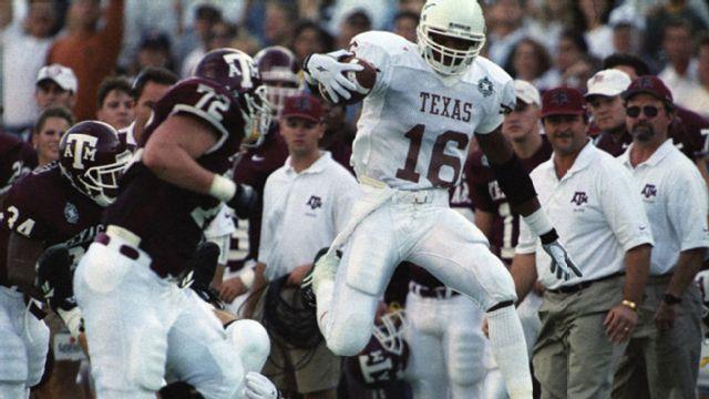 Texas Longhorns vs. Texas A&M Aggies  - 12/2/1995