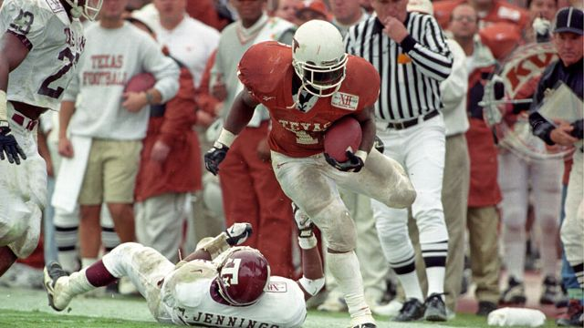Texas A&M Aggies vs. Texas Longhorns  - 11/29/1996