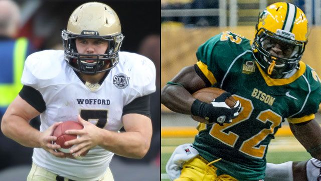 Wofford vs. #1 North Dakota State (Quarterfinals): NCAA FCS Football Championship