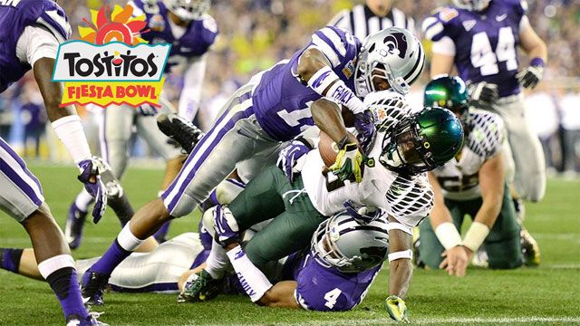 #4 Oregon vs. #5 Kansas State: 2013 Tostitos Fiesta Bowl