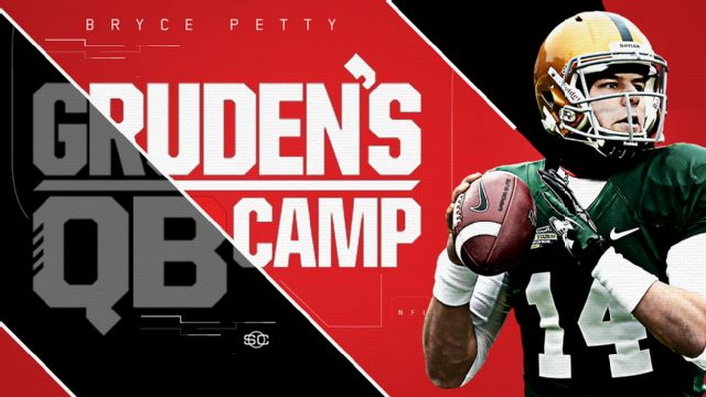 SportsCenter Special Presented by Experian: Gruden's QB Camp - Bryce Petty