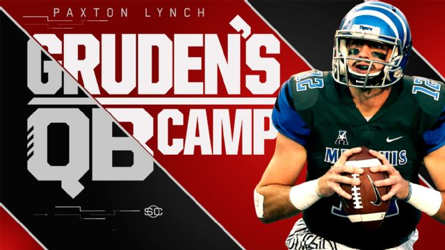 SportsCenter Special Presented by Stouffer's: Gruden's QB Camp - Paxton Lynch