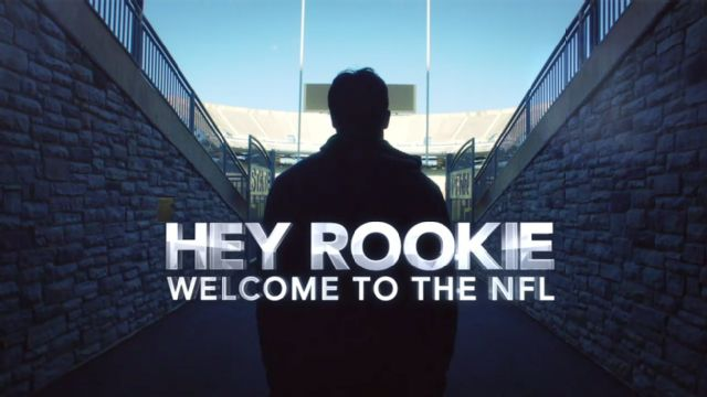 Hey Rookie: Welcome to the NFL