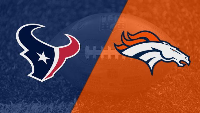 In Spanish - Houston Texans vs. Denver Broncos